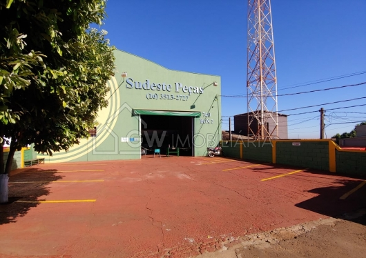 Barracão no Setor Industrial